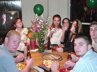 Chase, Megan, Nicole, Mary, Allison, John and Patrick