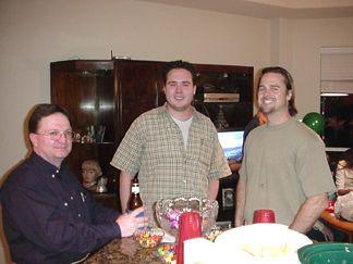 Mark, Josh and Jacob