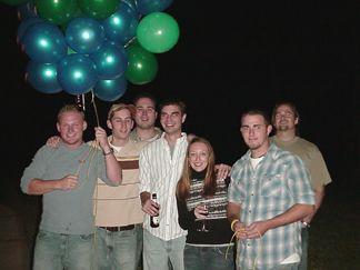Chase, John, Josh, Shaun, Kelly, David and Jacob