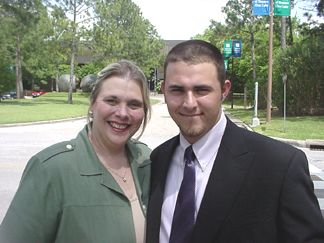 David and his mom (Liz)