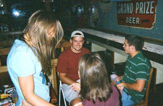 Nicole, Jared, Joanie and Patrick