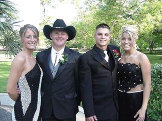Alex Bowden, Chase Nelson, Patrick and Kayli