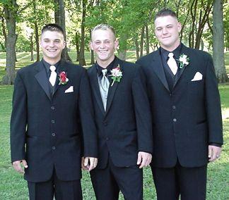 Patrick, Matt Cyrus and Cody Johnson