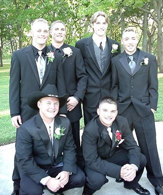The Baseball Team Matt Cyrus, Greg Gilbert, Daniel Steinhaus, Eric Beckner, Chase Nelson and Patrick Griffin