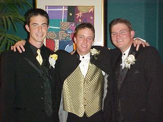 Three of Lamar's Golf Team... Levy Johnson, Neil Gaskin, and Greg Valikonis