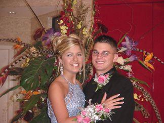 Patrick and Kayli at the Beards