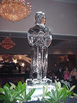 Ice Sculpture of an Oscar