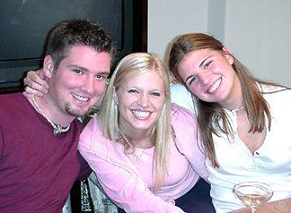 Chad, Susannah and Natalie