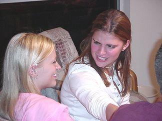 Natalie and Susannah