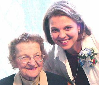 Mom and Joanie