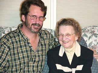 Hank and Mom