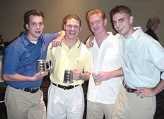 Mark, Chris, Mark and Shaun
