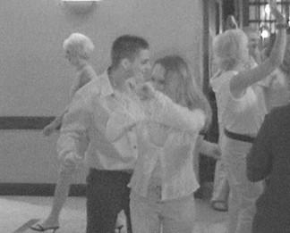 Patrick and Kelly dancing
