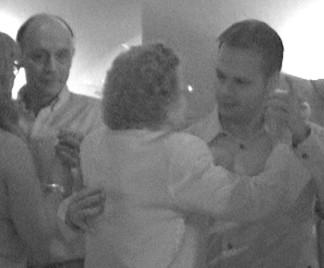 Rob and Theresa / Arron and Mom dancing