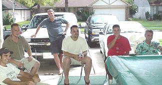Shaun, Josh, Roger, Dustin, Patrick and Mike at Shaun'nKelly's Sports Bar