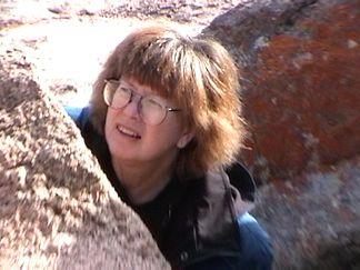 Alice in the rocks