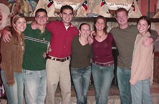 Kayli, Patrick, Shaun, Kelly, Natalie, Mark and Nicole