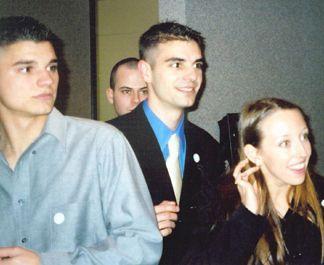 Patrick, Shaun and Kelly
