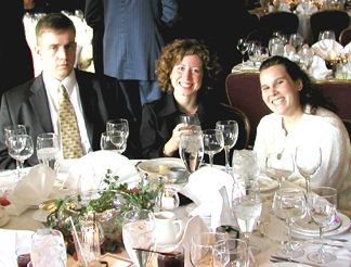 Phillip, Clare and Diana