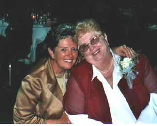 Debi Mattingly (Kelly's Mom) with Jayne Hays (Kelly's Grandma)