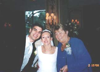 Shaun and Kelly along with Kelly's Grandmother - June Heisler.