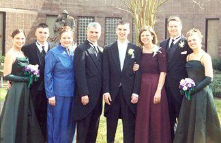 Nicole, Patrick, Chandra and Mike, Shaun, Joanie and I, and Natalie