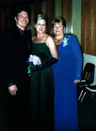June and Cindy Heisler with Mike
