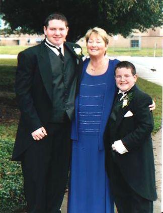 June Heisler with Mark and Ryan