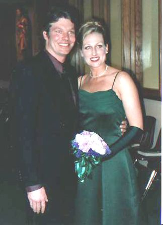 Cindy Heisler and her fiancee Mike
