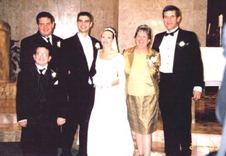Shaun and Kelly with Kelly's family - Debi and Greg Mattingly and her brothers Mark and Ryan