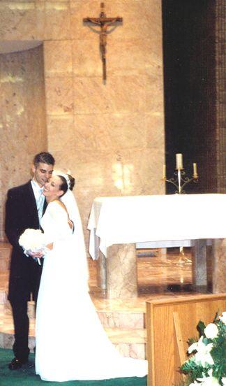Shaun and Kelly at the Altar