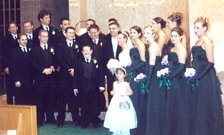 Shaun and Kelly with the Wedding Party