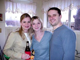 Sarah, Melissa and Brett