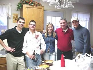 Shaun, Patrick, Kayli, Mike and Mark Hammond