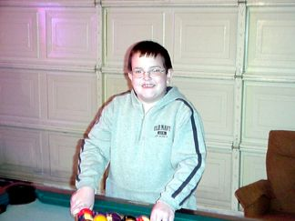 Ryan Mattingly - playing pool