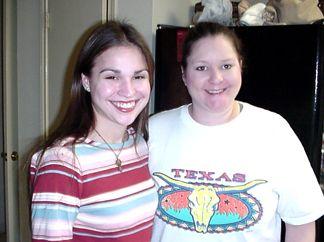 Nicole and Chandra