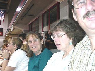 Hank, Alice, Sara and Stephanie