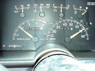 On the way to Cincinnati - The Suburban rolls over 275,000 Miles