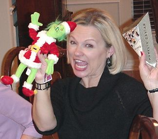 Debbi got the Grinch and wants to hold on to it!