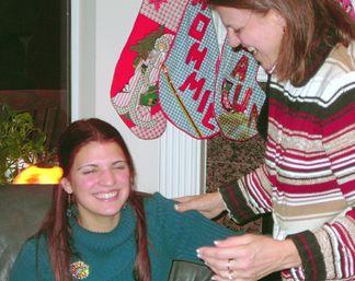 Joanie and Natalie
